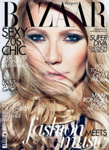 Harper's Bazaar UK Gwyneth Paltrow cover