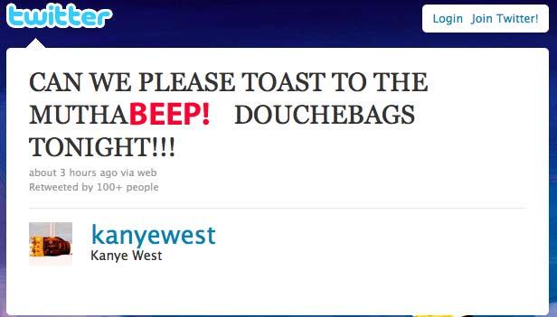 Kanye West Twitter Josh Groban