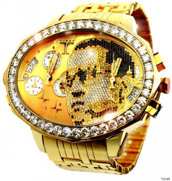 Kanye West's $180K Watch