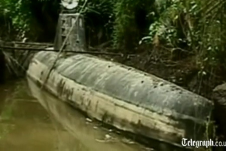 drug smuggling submarine