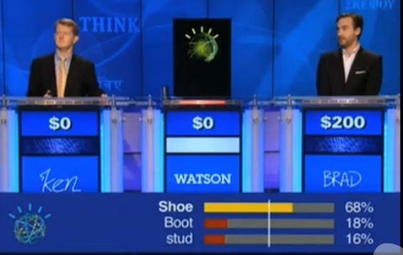 Jeopardy computer Watson