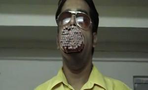 pencil mouth world record