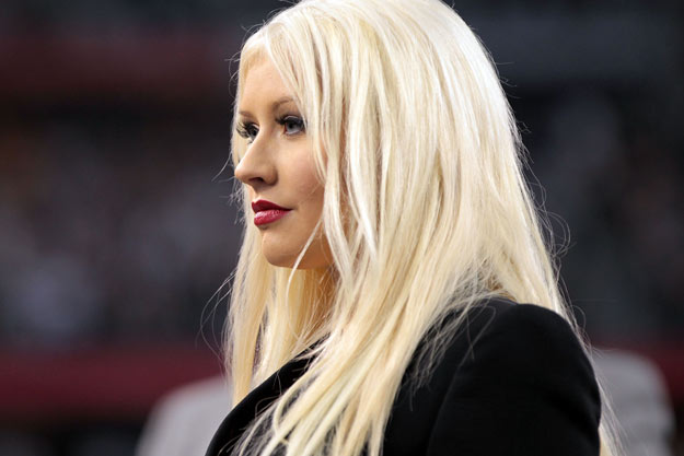 Christina Aguilera Arrested