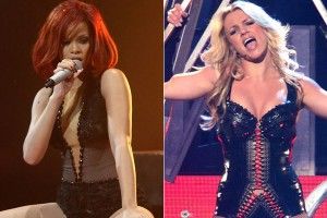 Rihanna and Britney Spears