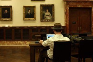 NY Public Library Opens The Grand Salomon Room As WiFi Reading Room