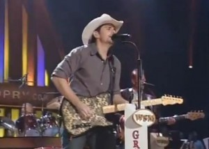 Brad Paisley TV Performance