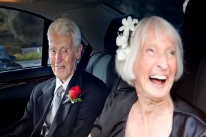Oldest Couple Marry