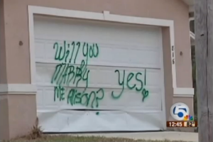marry me vandalism
