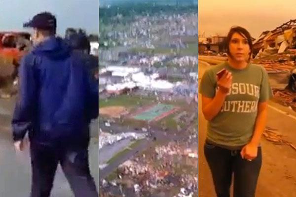 Tornado First Person Videos